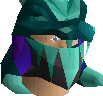 Tanzanite helm (uncharged) chathead
