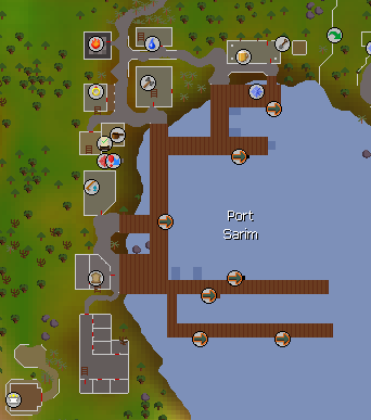 Port Sarim map