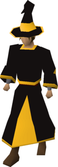 Black wizard robes (g) equipped