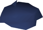 Blue beret detail