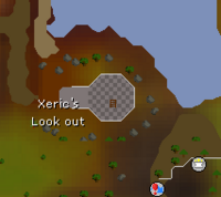 Xeric's Look out map