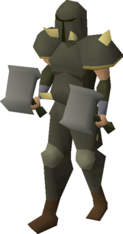 Torag's armour equipped