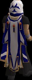 Saradomin max cape equipped
