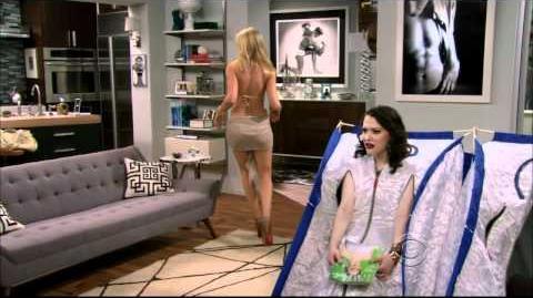 Beth Behrs in a bikini
