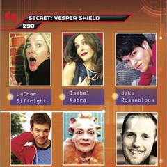 Suspect card for Vesper Two, The Shield (Card 290)