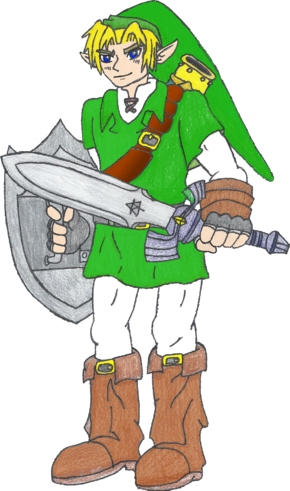 Drawing of Link