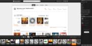 Grooveshark-interface