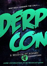 Derpcon poster