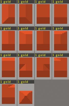 Roof-blocks