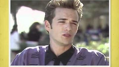 Behind the scenes luke perry