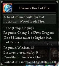 Phoenix Bead of Fire