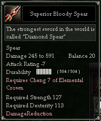 Superior Bloody Spear