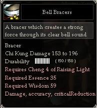 Bell Bracers
