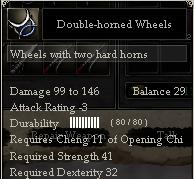 Double-horned Wheels