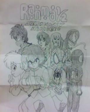 Ranma 1-2 Seriously Abridged Drawing by PowerpuffOldandZfan