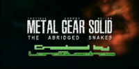 Metal Gear Solid: TAS