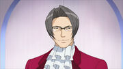 Miles Edgeworth Anime