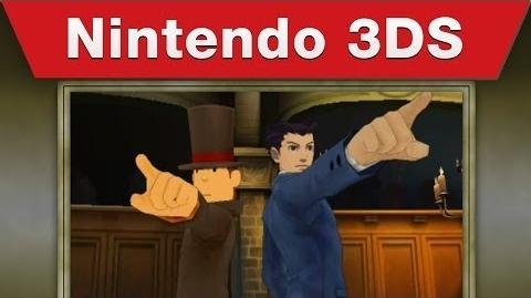 Nintendo 3DS - Professor Layton vs. Phoenix Wright Ace Attorney E3 2014 Trailer