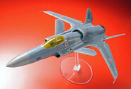 ASF-X Shinden II 1-72 Scale