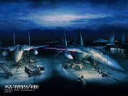 Valais F-15C Wallpaper 1024x768