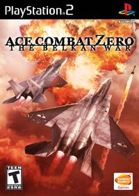 Ace Combat Zero Box Art North America