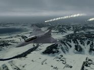 F-16XL over Stier