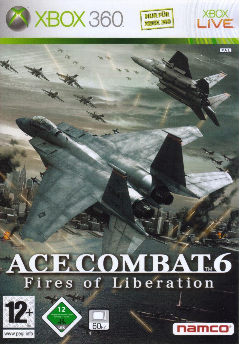 Ace Combat 6: Fires of Liberation RGH + DLC Xbox 360 Español [Mega+]