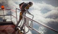Woman on Lighthouse platform 2