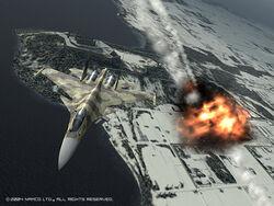 Su-37 Kill over Stier Castle