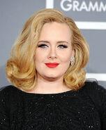 Adele 2012 Grammys