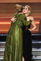 Celine+Dion+Adele+59th+GRAMMY+Awards+Show+Lx8eja6OZ8jl