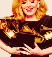 Adele Six Grammys