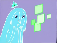 Ghost Princess on phone