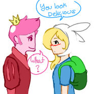 Fionna x prince gumball by quitebubbly-d45tdkv