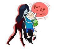 Marceline and finn by dbrianna-d3fj9wq