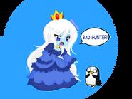 Ice queen w gunter chibi by neko hibi-d53tn2q