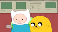 S5e5 Finn and Jake watching Little People