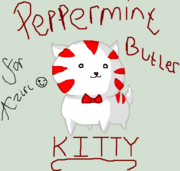 Peppermint kitty