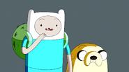 S5e28 Finn asking Moe if he's human