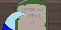 Unfreezing Potion A