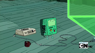 S2e23 bmo playing movie
