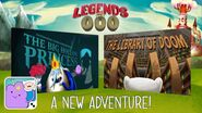 Legends of ooo update