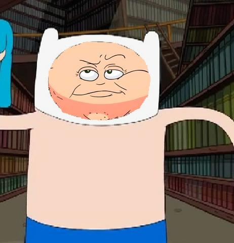 File:You look pretty good finn.png