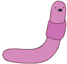 Shelby The Worm Who Lives in Jake's Viola