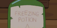 Freezing Potion A