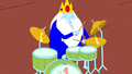S5 e5 Tiny Ice King playing drumset.PNG