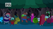 S4 E7 Candy People partying with Bear