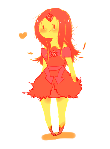 File:Flame princess by splicedlamia-d4pfww3.png