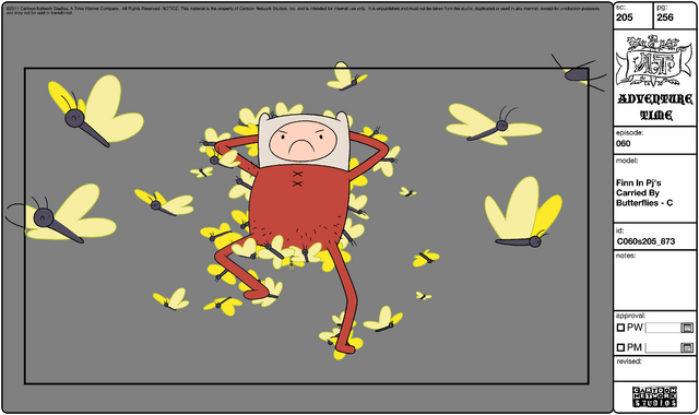 File:Modelsheet Finn in PJs Carried by Butterflies - C.png