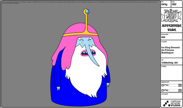 File:Modelsheet iceking dressed asprincessbubblegum.png
